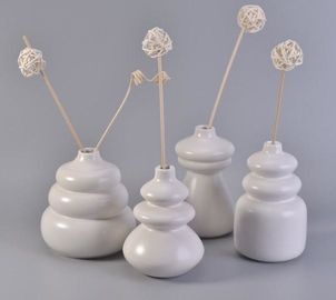 Pure Handmade Ceramic Reed Diffuser Bottle , Ceramic Scent Diffusers Bottle