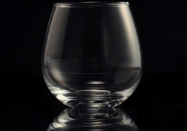 Everyday Clear Recycled Glasses Tumblers / Wine Glass Cup For Drinking