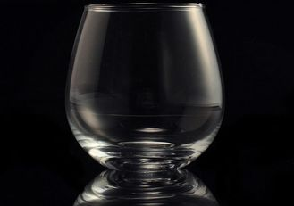 Morden Clear Wine Glass Tumbler / 20 Ounce Drinking Glasses Recyclable
