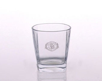 Barware Water Glass Whiskey Tumblers Lead Free Square Rock Whiskey Glass